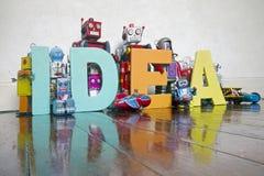 Word idee royalty-vrije stock foto's