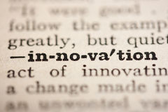 Word innovation Royalty Free Stock Image