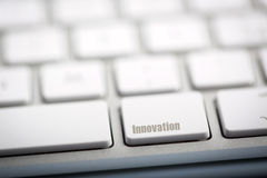 The word INNOVATION Royalty Free Stock Photography