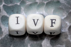 The word ivf Stock Photography