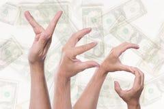 Word ja de terugbetaling van de conceptenbelasting Stock Foto's