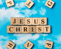 The word Jesus Christ Royalty Free Stock Photo