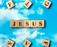 The word jesus Stock Photography