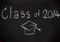 Word klasse van 2014 aan boord Stock Foto's