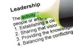 The word Leadership Stock Photos