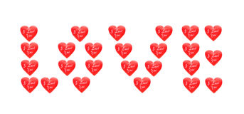 The word LOVE Stock Images