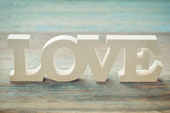 The word Love Royalty Free Stock Photo