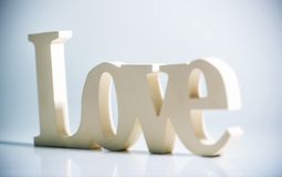 The word LOVE Royalty Free Stock Image