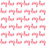 Word love background Royalty Free Stock Photography