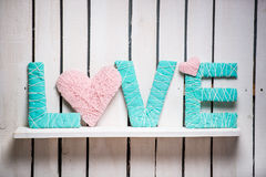 Word love Royalty Free Stock Photography