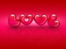 Word love Stock Photos