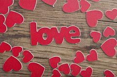 Word ''love'' Royalty Free Stock Photos