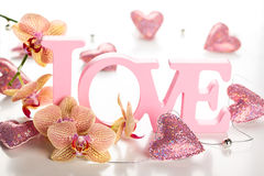 Word love Stock Images