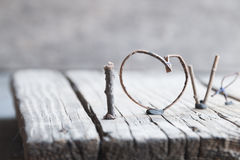 Word love - Valentines or Mothers day, wedding, romantic events Royalty Free Stock Photography
