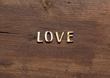 The word of Love Stock Photos
