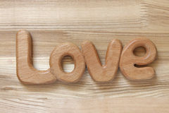 Word love Stock Photo