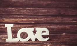 Word love Stock Photos