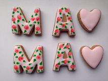 Word mama Royalty Free Stock Images