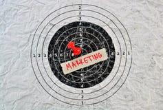 Word Marketing royalty-vrije stock afbeelding