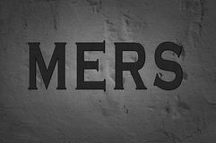 Word Mers Royalty Free Stock Photo