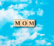 The word mom Stock Photography