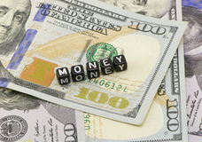Word money concept Royalty Free Stock Photography