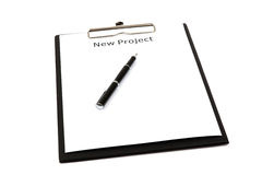 The word new projects Royalty Free Stock Image