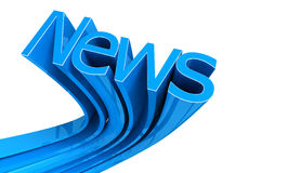 Word News Stock Photo