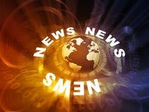 Word News stock image