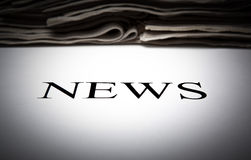 The word news Stock Photo