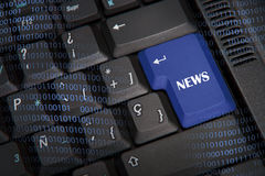 Word News Royalty Free Stock Image
