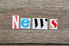 The word News Stock Photos
