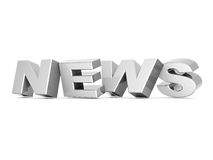 Word news Royalty Free Stock Photo