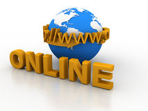Word online Stock Photography