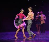 Word onmiddellijk het beste van de vriend-de werelddans van Oostenrijk Stock Foto's