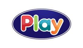 Word play illustration Stock Image