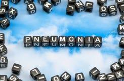 The word pneumonia Stock Photos