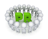 Word PR. Royalty Free Stock Images