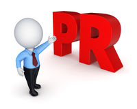 Word PR. Royalty Free Stock Image