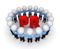 Word PR. Stock Photo