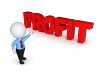 Word PROFIT. Stock Photography