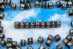 The word Psychosis Royalty Free Stock Image