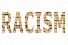 The word racism Stock Photography