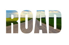 Word ROAD Stock Images