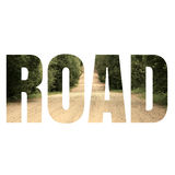 Word ROAD Royalty Free Stock Image