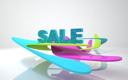 The word sale Royalty Free Stock Photography