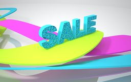 The word sale Royalty Free Stock Photos
