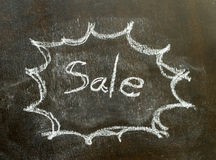 The word sale in bubble sign. Background royalty free stock photo