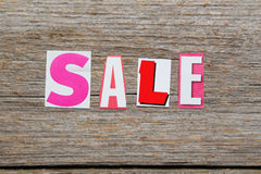 The word sale Royalty Free Stock Images