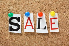 The word Sale Stock Images